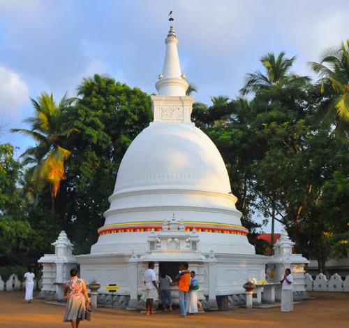 Bellanwila Rajamaha Vihara - Sthupa